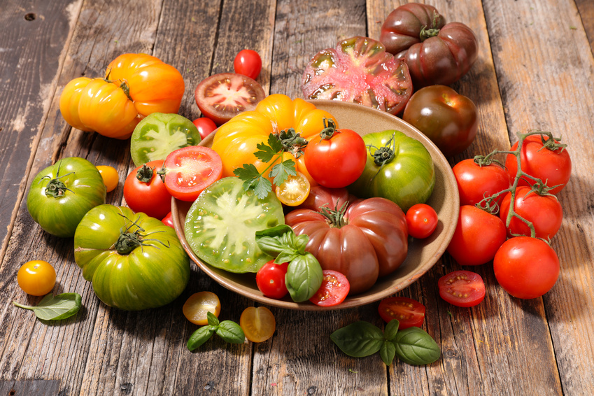 Bunte Tomaten: Tomate als Superfood