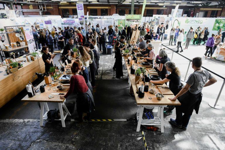 Gruppenworkshop / Kochkurs auf der VeggieWorld Berlin 2019