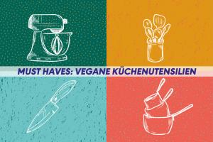 Vegane Küchenutensilien Titelbild