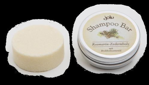 Shampoo Bar Rosmarin Zedernholz