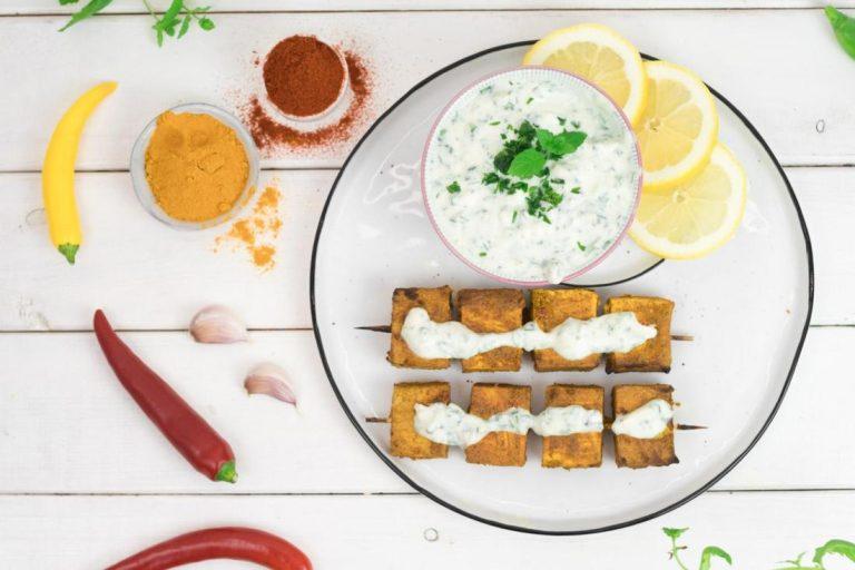 Tofu Grillspieß