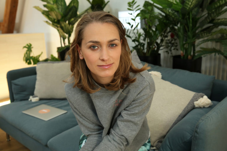 Portrait der Gründerin Giulia