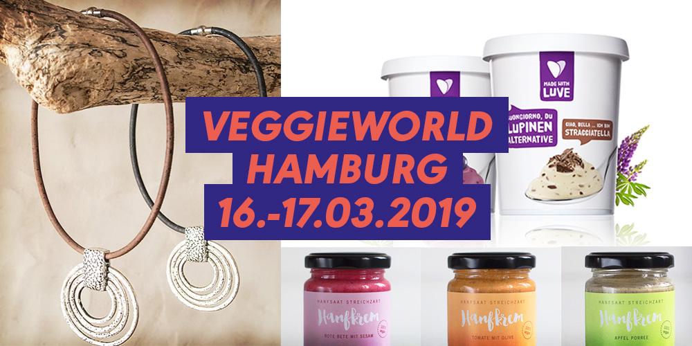 Vegane Produkte auf der VeggieWorld Hamburg
