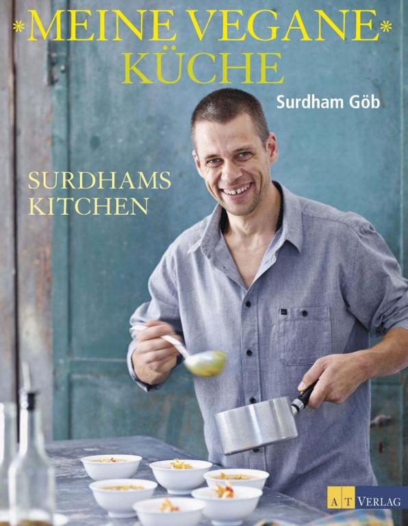 Buchcover: Meine vegane Küche von Surdham Göb
