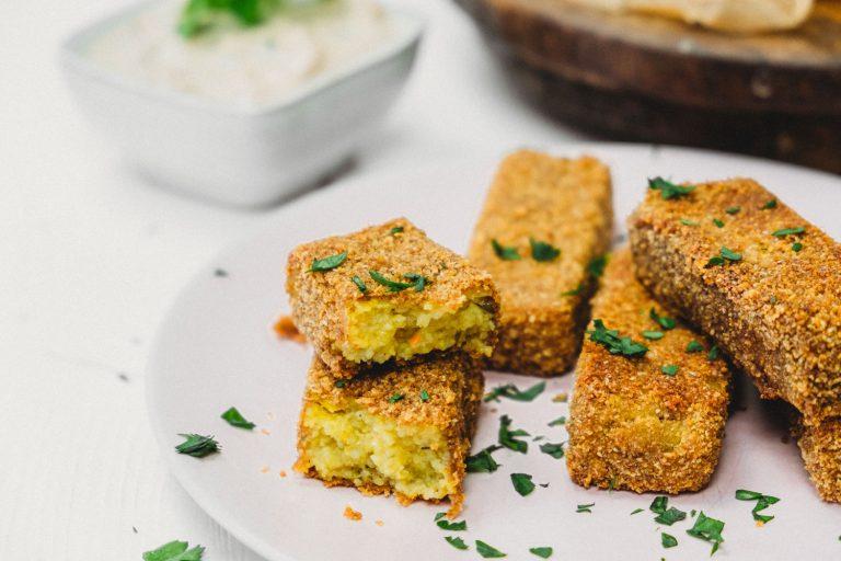 Polenta-Sticks vegan