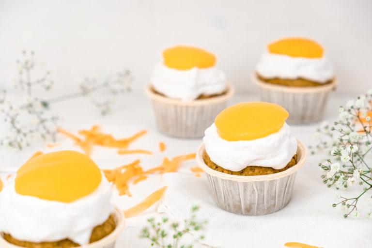 Cupcakes für vegane Ostern