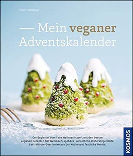 """Buchcover """"Mein vegane Adventskalender"""""""
