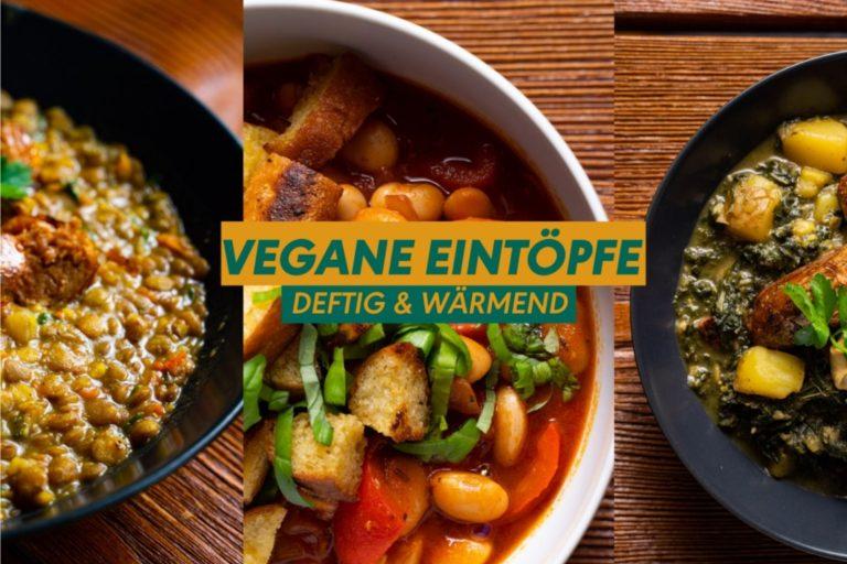 Vegane Eintöpfe - leckere Rezeptideen für Herbst und Winter