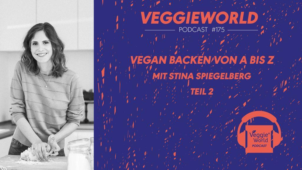 Titelbild zum Podcast #175: Vegan Backen von A-Z