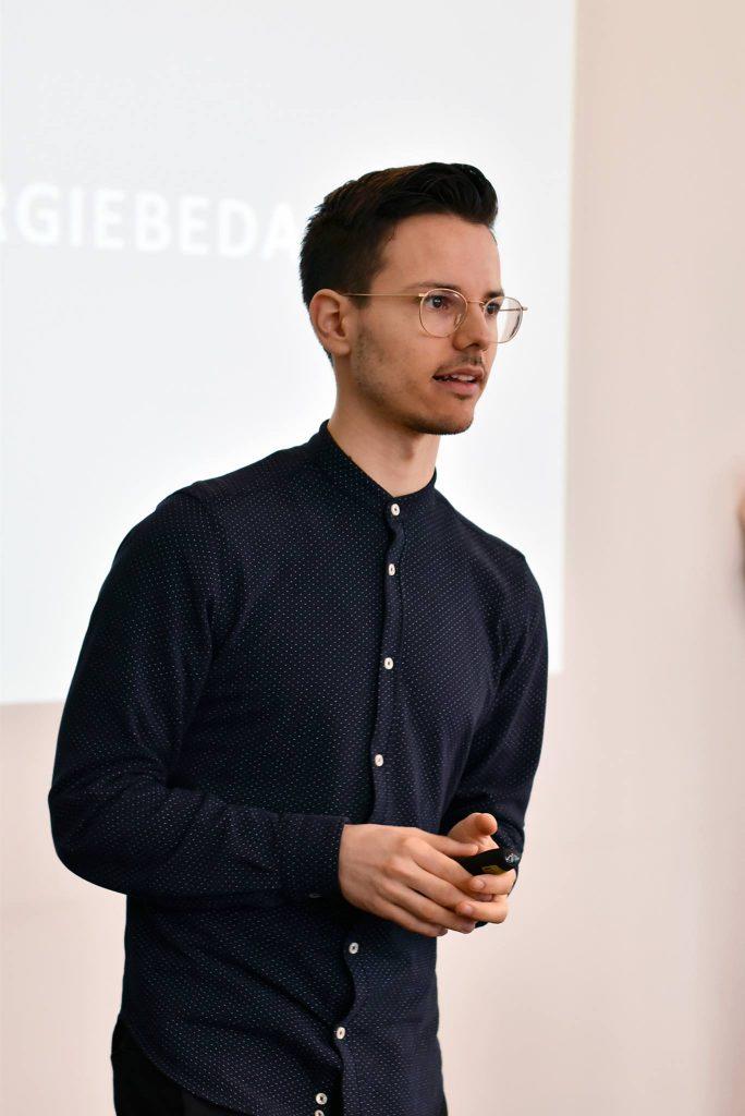 Niko Rittenau auf der VeggieWorld Hamburg 2017