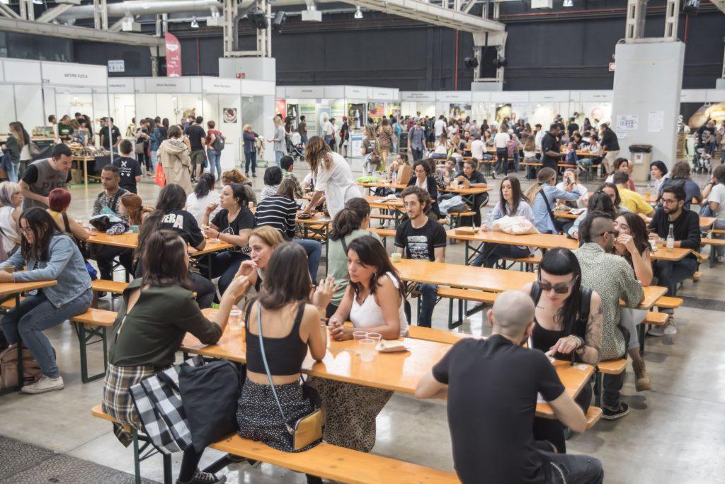 VeggieWorld Barcelona2019 Food Court