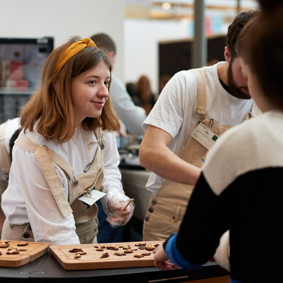 Ausstellerin auf der VeggieWorld Kopenhagen 2019