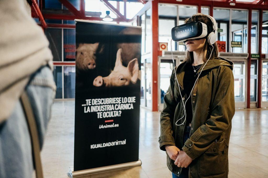 VeggieWorld Madrid 2019 Virtual Reality