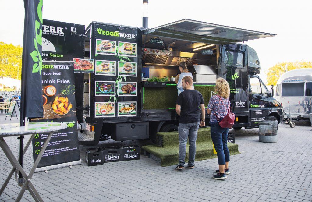 Foodtruck VeggieWerk auf der VeggieWorld Dortmund 2019