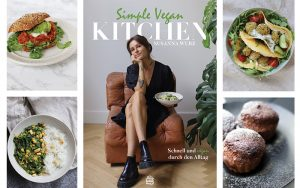 Simple Vegan Kitchen Cover mit Rezeptfotos