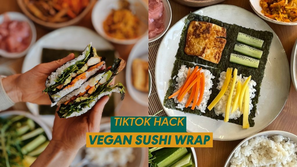 Titelbild Veganer Sushi Wrap