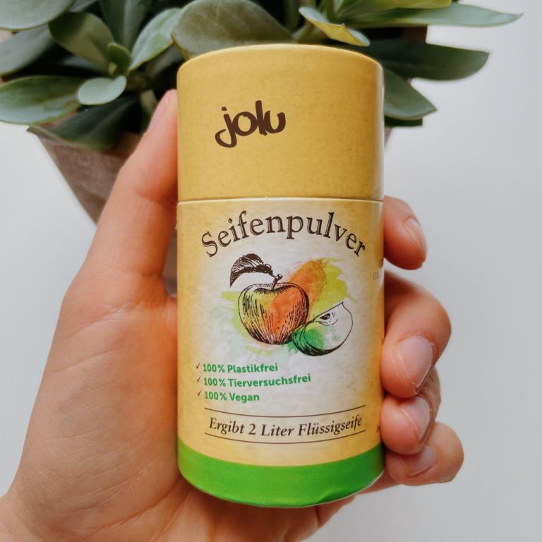 Seifenpulver zur Herstellung von umweltfreundlicher Flüssigseife
