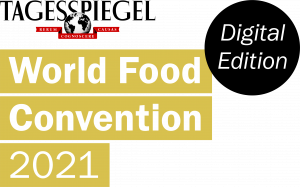 Logo der World Food Convention 2021