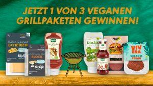 Vegane Produkte aus dem veganen Grillpaket-Gewinnspiel