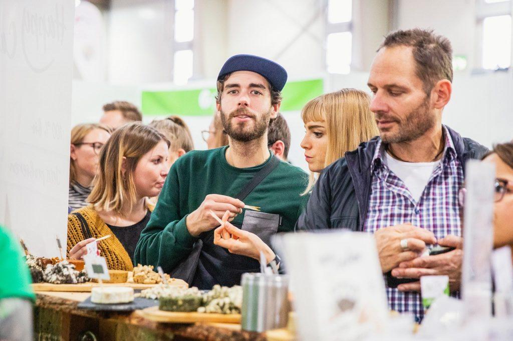 Besucher auf der VeggieWorld Köln 2019
