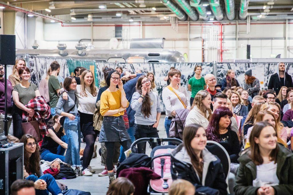 Publikum auf der VeggieWorld Köln 2019