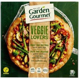 Garden Gourmet vegane Tiefkühlpizza Veggie Lovers